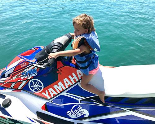 baptême jet-ski